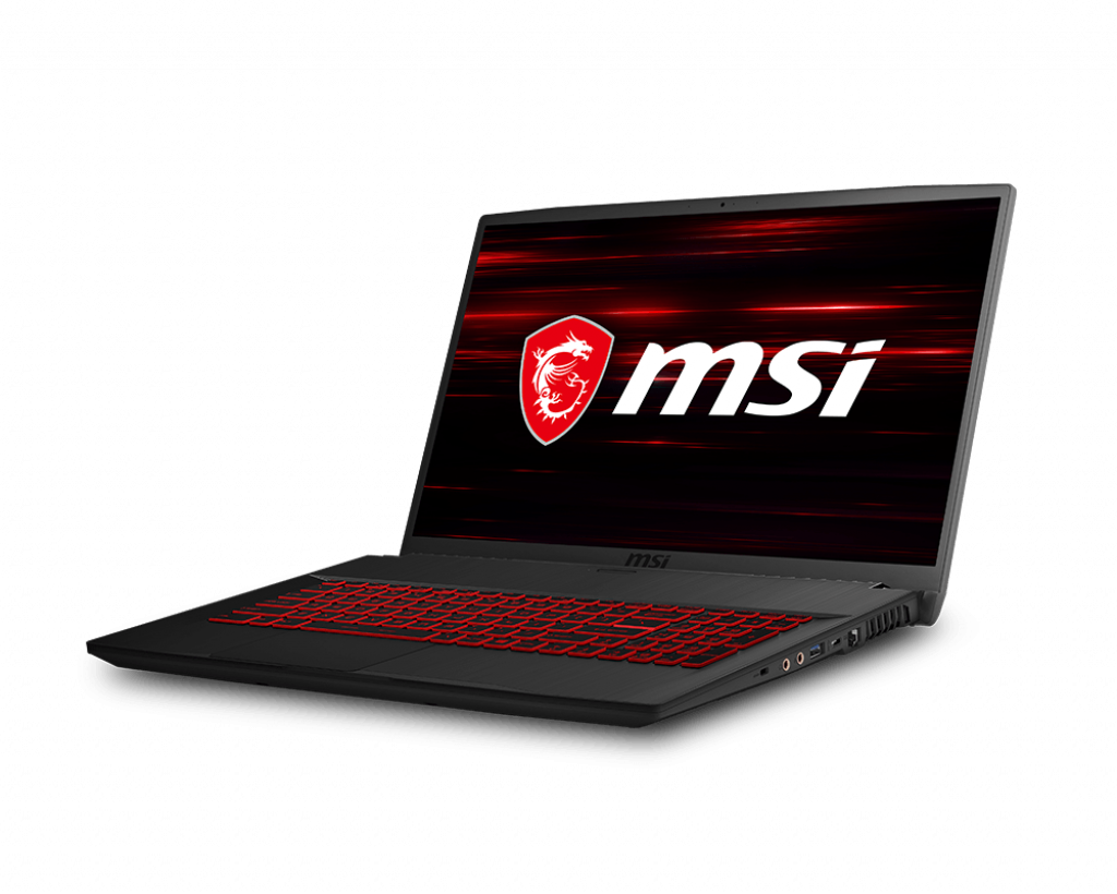 "MSI GF75 9SC, 17.3"", 512GB SSD, 16G RAM, Intel Core i7-9750H, Windows 10"